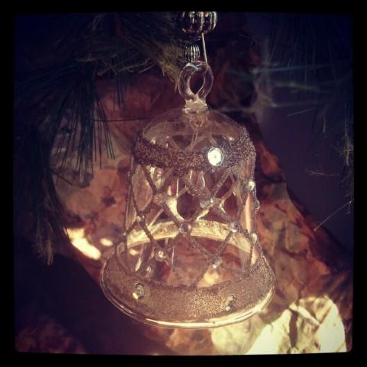 Glass bell...