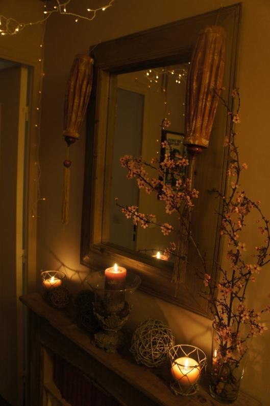 La soirée est finie, les cerisiers ont fleuris...