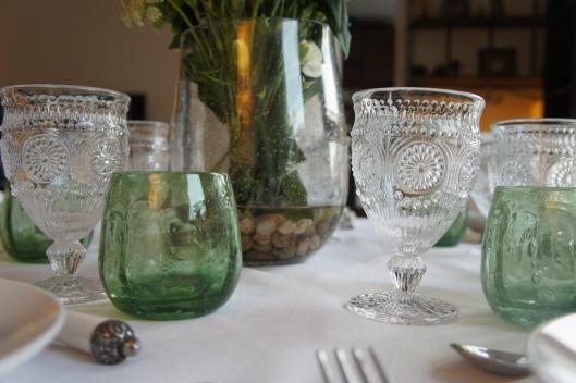 Au loin, le vase, bullé lui aussi, donne un petit effet aquatique à l'ensemble...