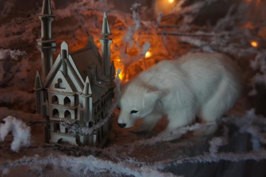 Ours blanc et château enchanté...