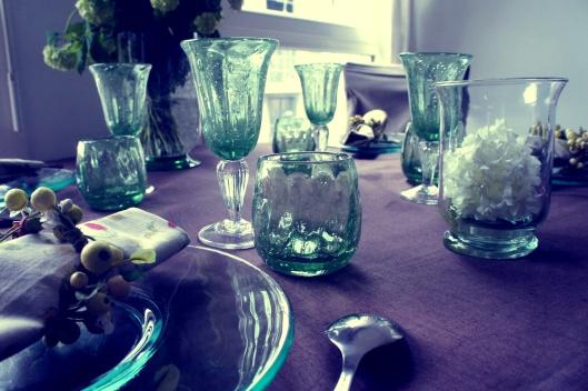 Les verres bullés poussent, comme autant de bulbes sortant de terre....